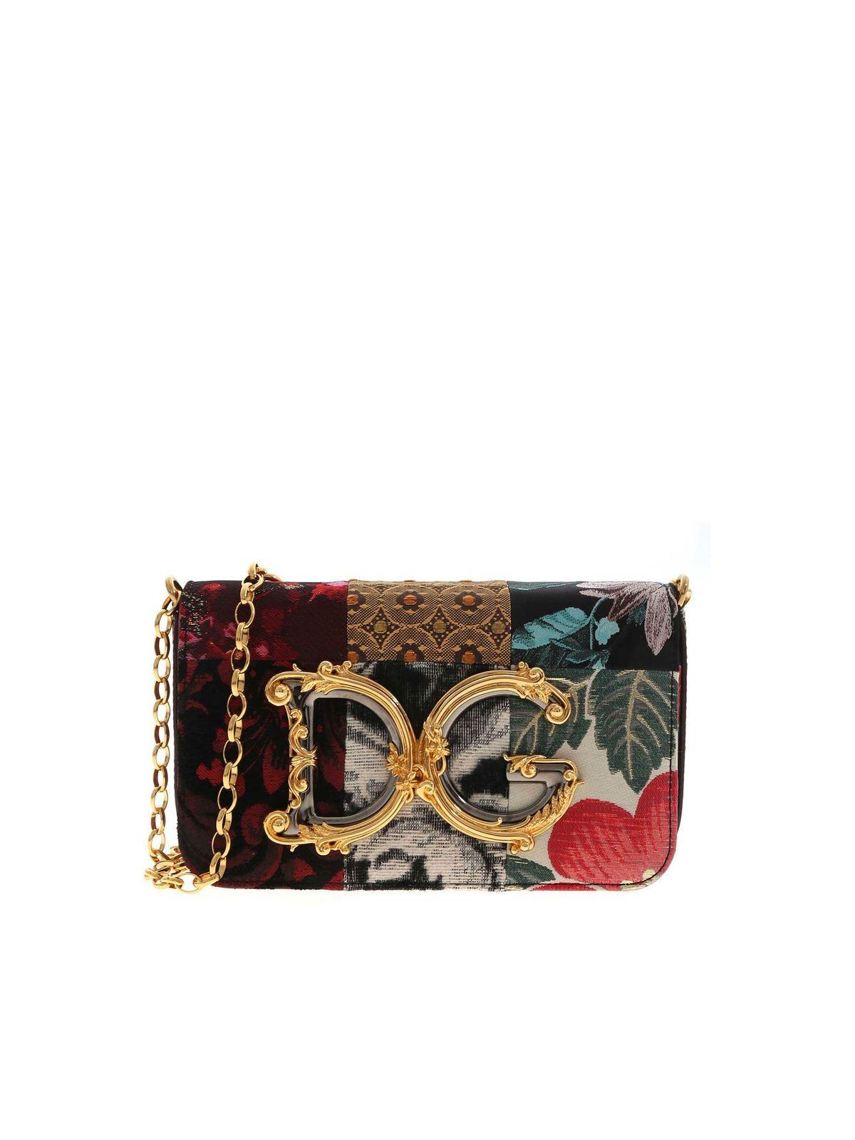 Dolce & Gabbana DG GIRLS MULTICOLOR CROSSBODY BAG