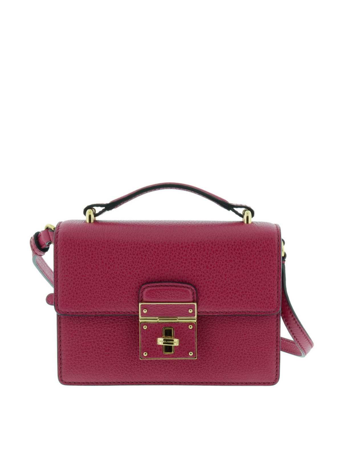 67a9fb2974a4 Dolce   Gabbana - Lock closure mini Rosalia bag - cross body bags ...