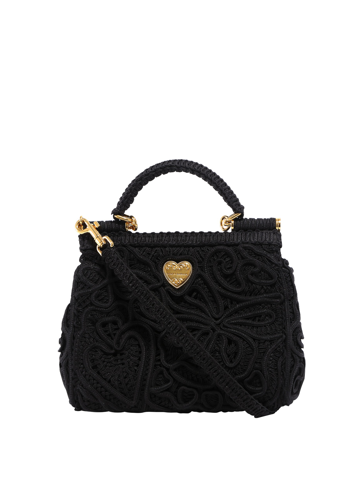 Dolce & Gabbana SICILY CORDONETTO SMALL BAG