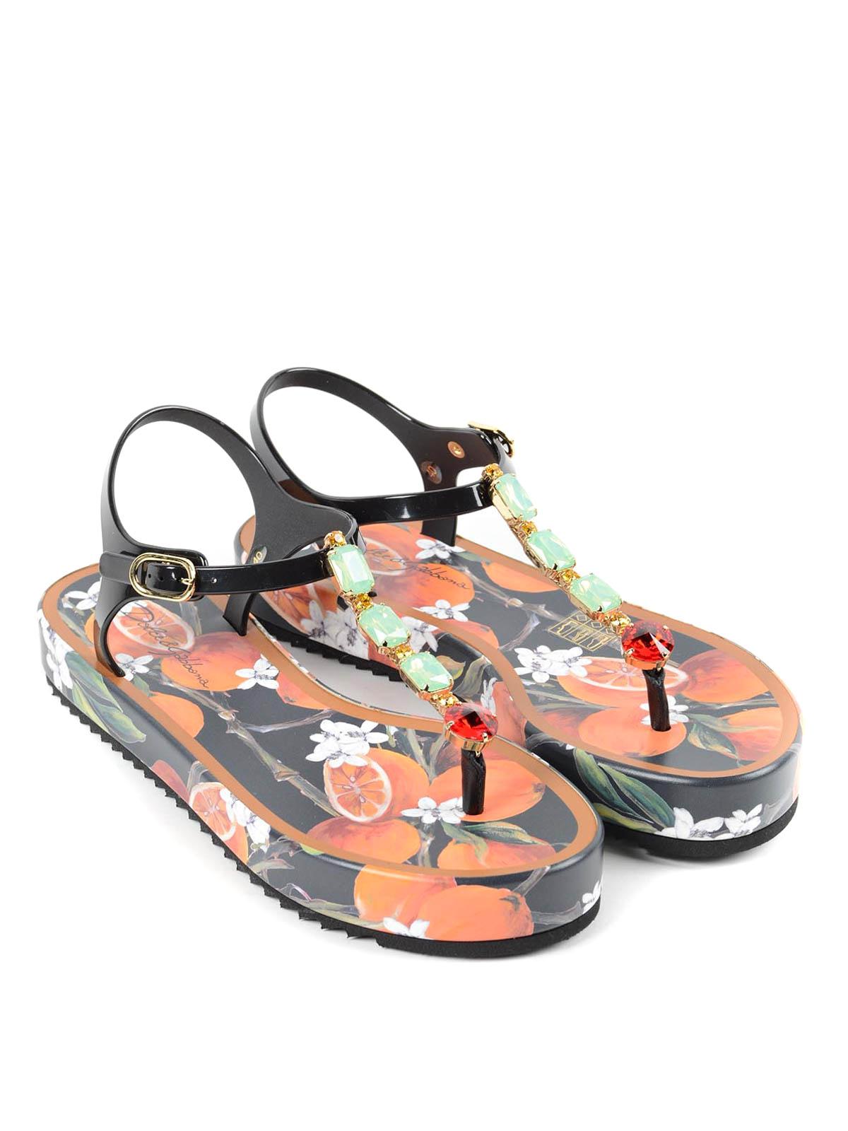 a25e699543f Dolce   Gabbana - Beachwear sandals - flip flops - CW0035 A4374 80999