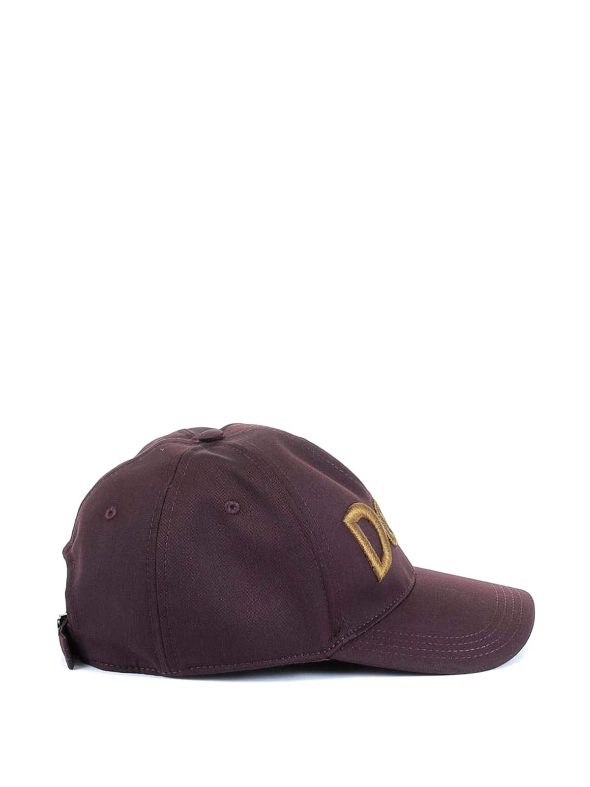 263fa02cf Dolce & Gabbana - D&G embroidery baseball cap - hats & caps ...