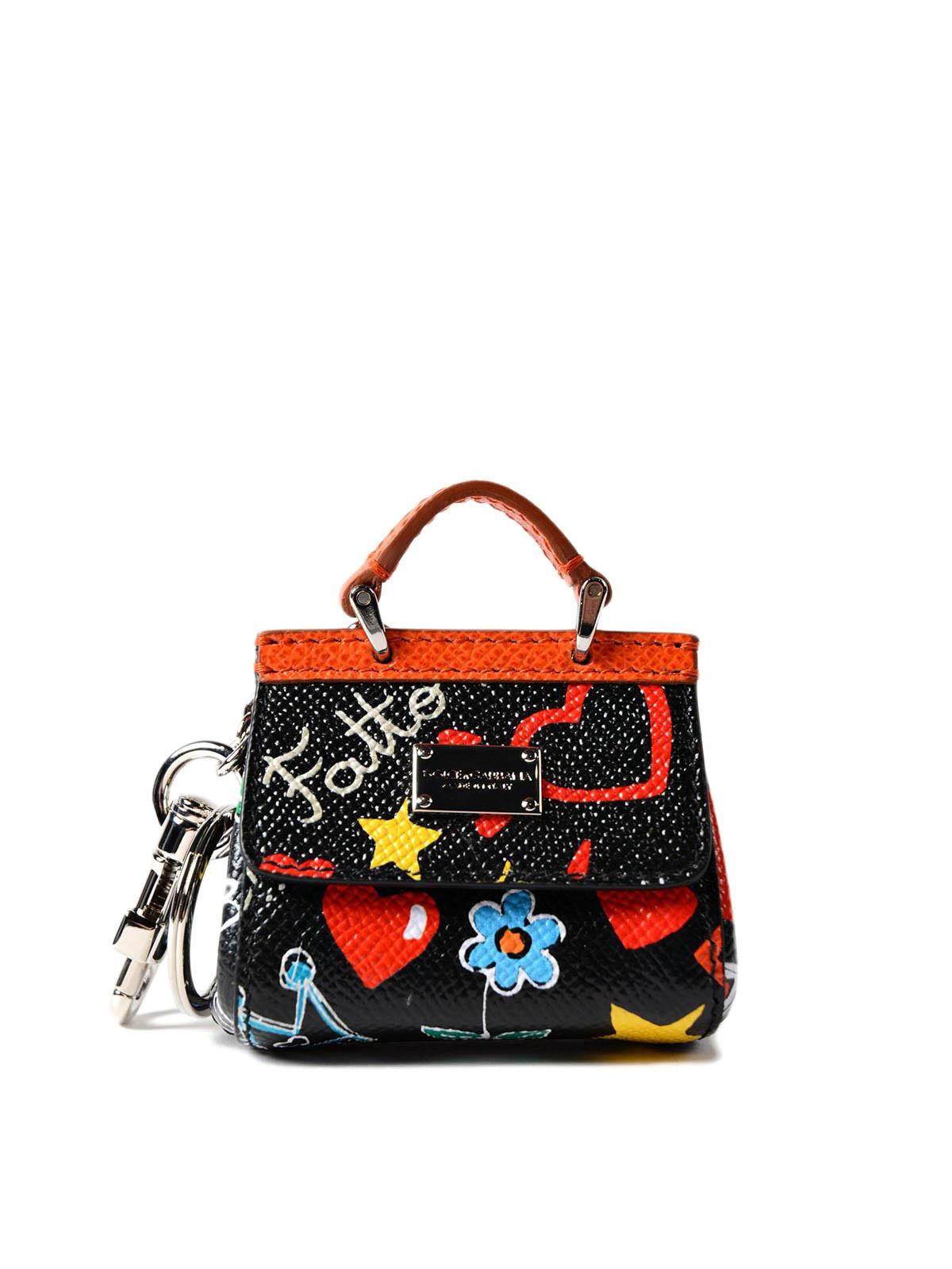 645bf12cb7e0 Dolce   Gabbana - Schlüsselanhänger - Bunt - Schlüsselanhänger ...