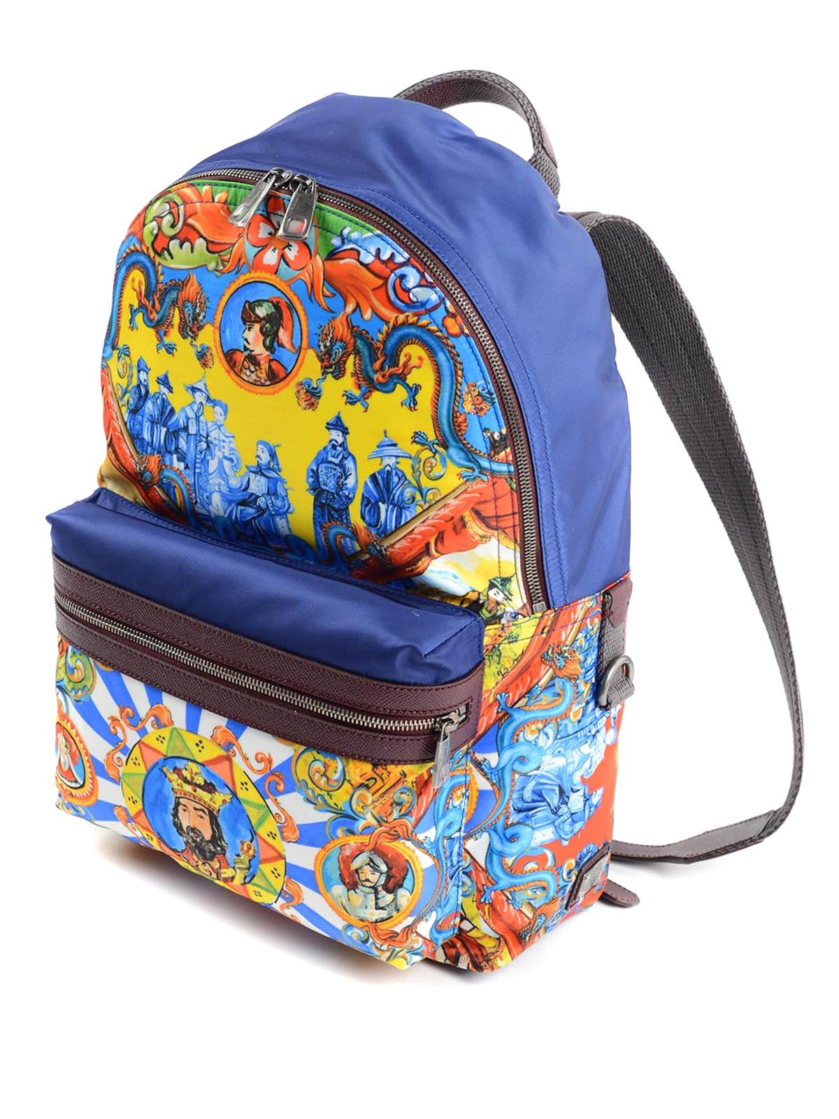 f8a136d6371 Dolce & Gabbana - Mochila Multicolor Para Hombre - Mochilas - BM1263 ...