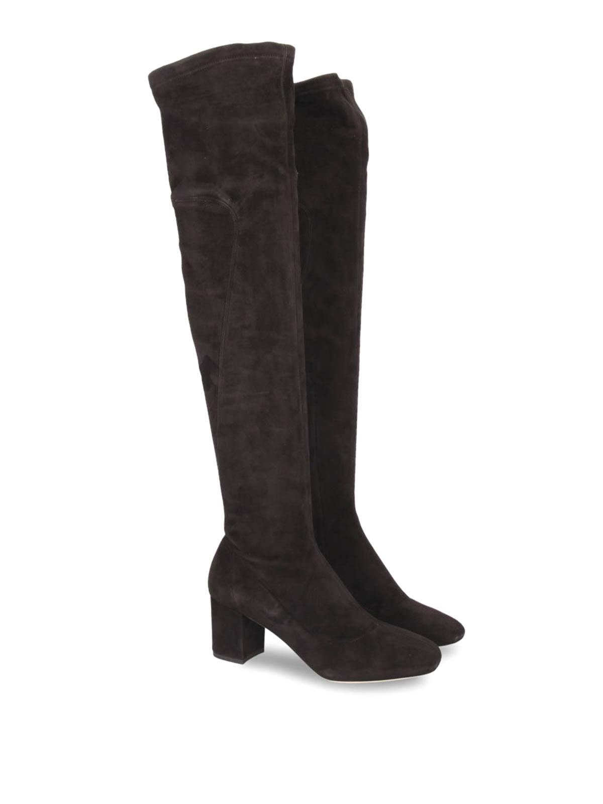 b052f41c1 Dolce & Gabbana - Jackie over-the-knee boots - boots - CU0302AC70080999