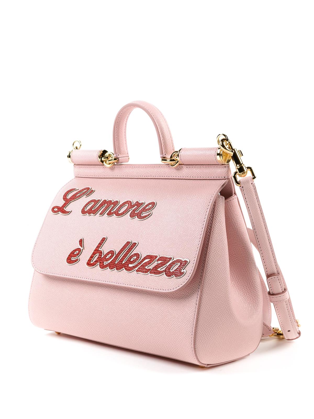 Dolce & Gabbana Lamore e bellezza pink Sicily M rmx1fI3dyn
