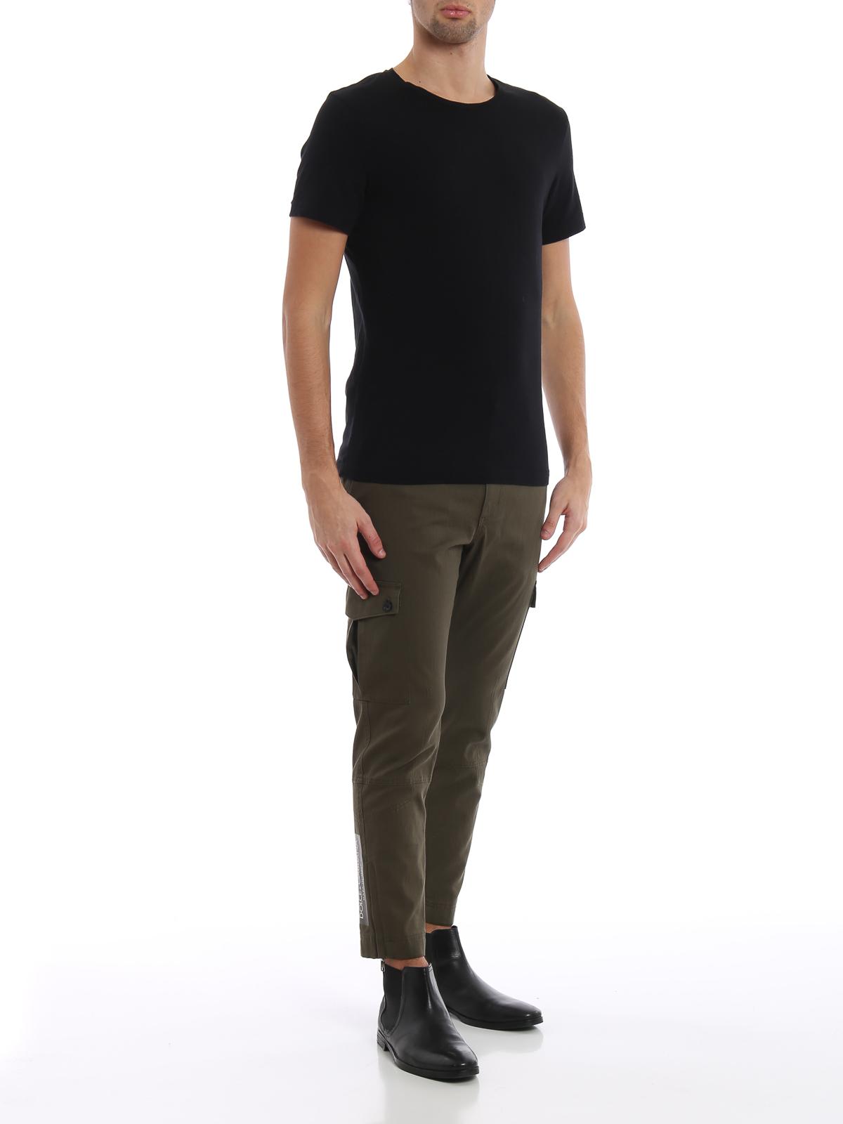 3a0bd09ae3 DOLCE   GABBANA  Pantalones casual online - Pantalón Casual - Verde Oscuro
