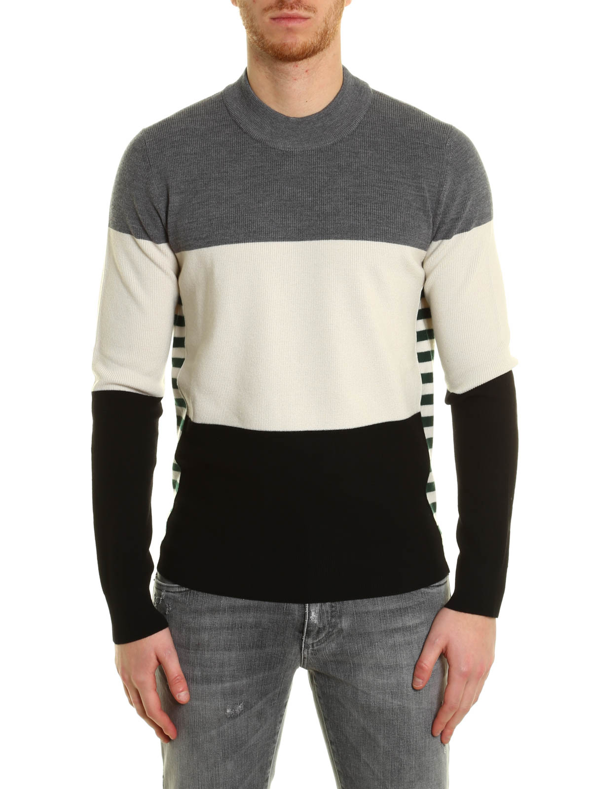 Dolce & Gabbana Pull Col Rond Teint Pour Homme Pull col