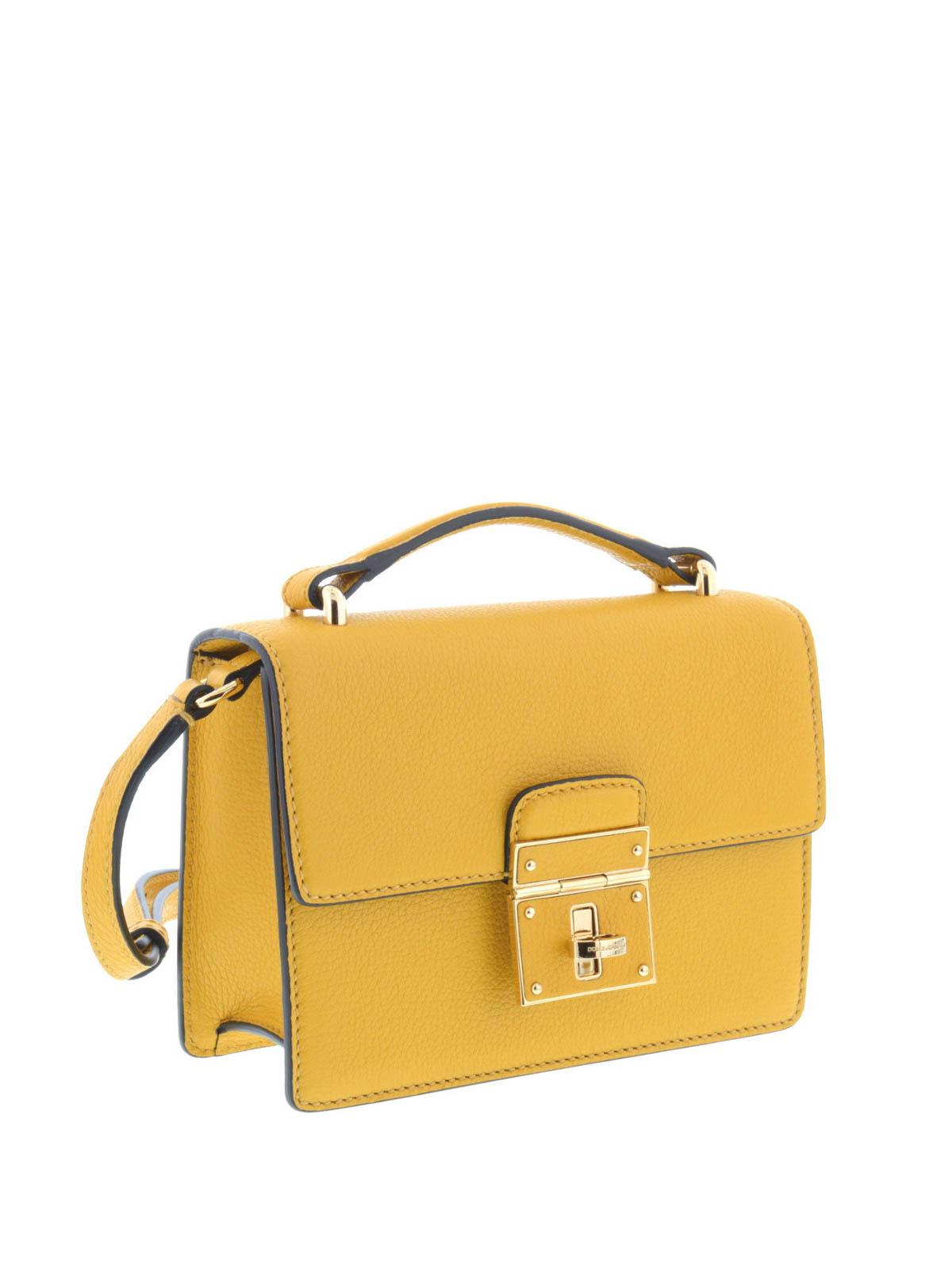 4b4da49830153 DOLCE   GABBANA  cross body bags online - Lock closure mini Rosalia bag