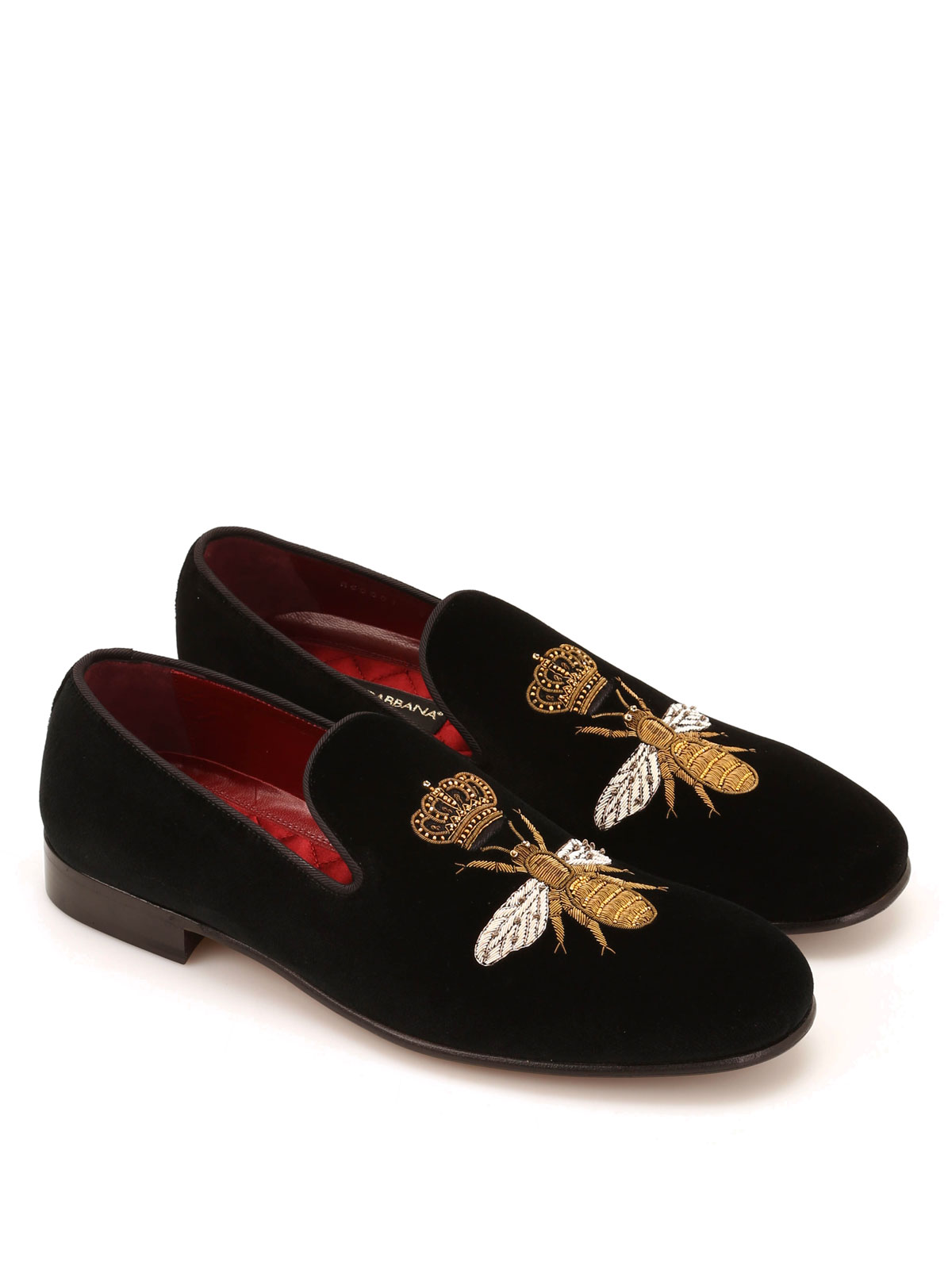 9ab545ada3b35 DOLCE   GABBANA  Mocassini e slippers online - Pantofola Milano in velluto