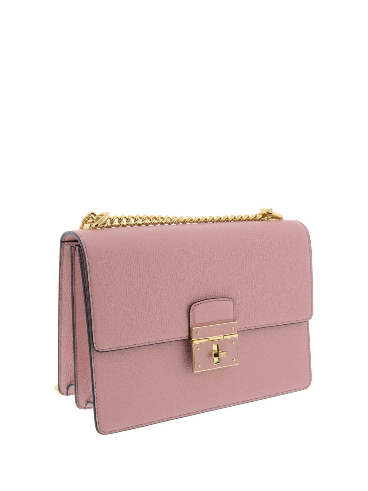 a8df4018e2e98 DOLCE   GABBANA  shoulder bags online - Lock closure Rosalia chain bag