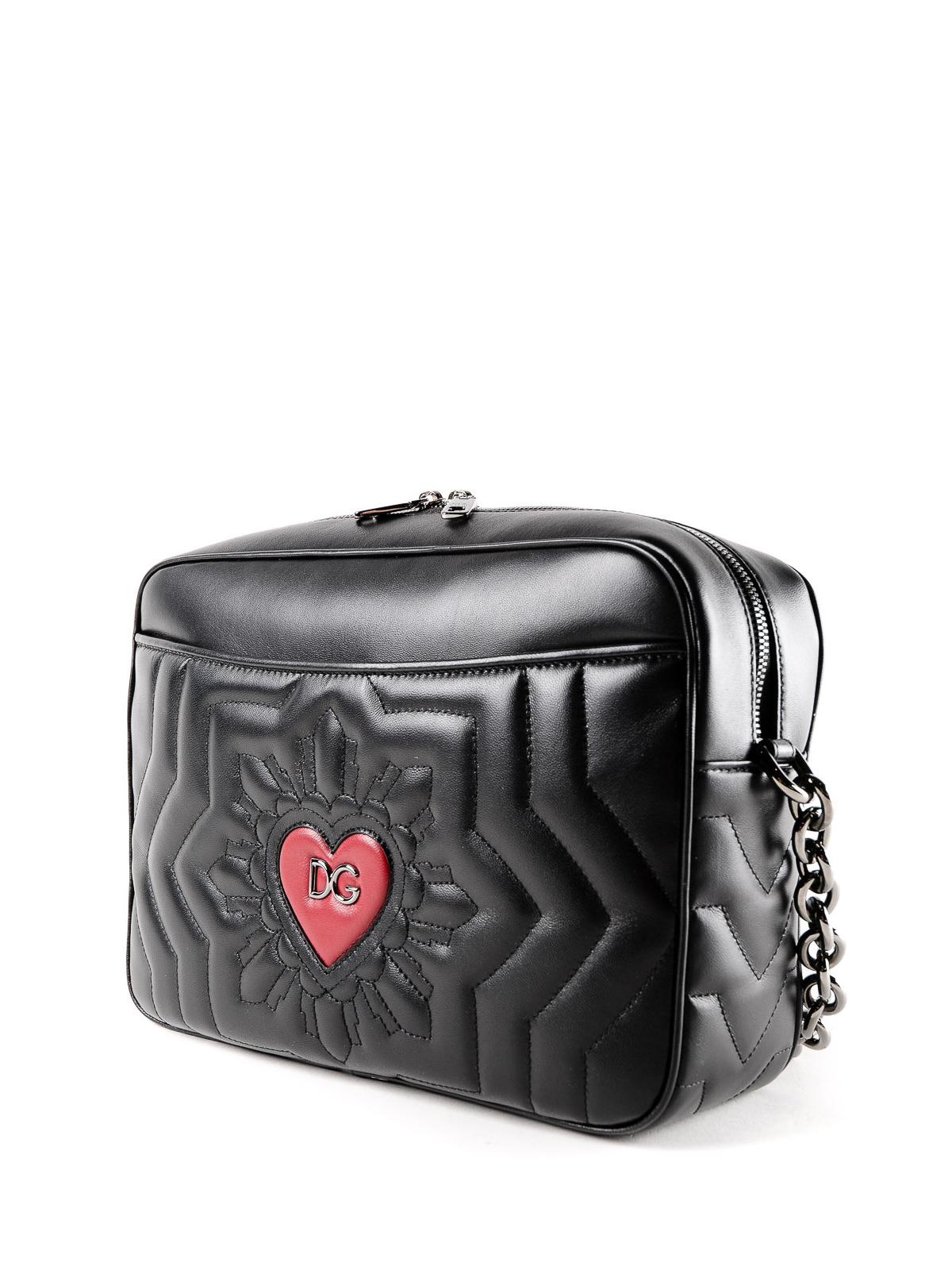 Dolce & Gabbana Logo heart matelasse leather tote I7OrBOow