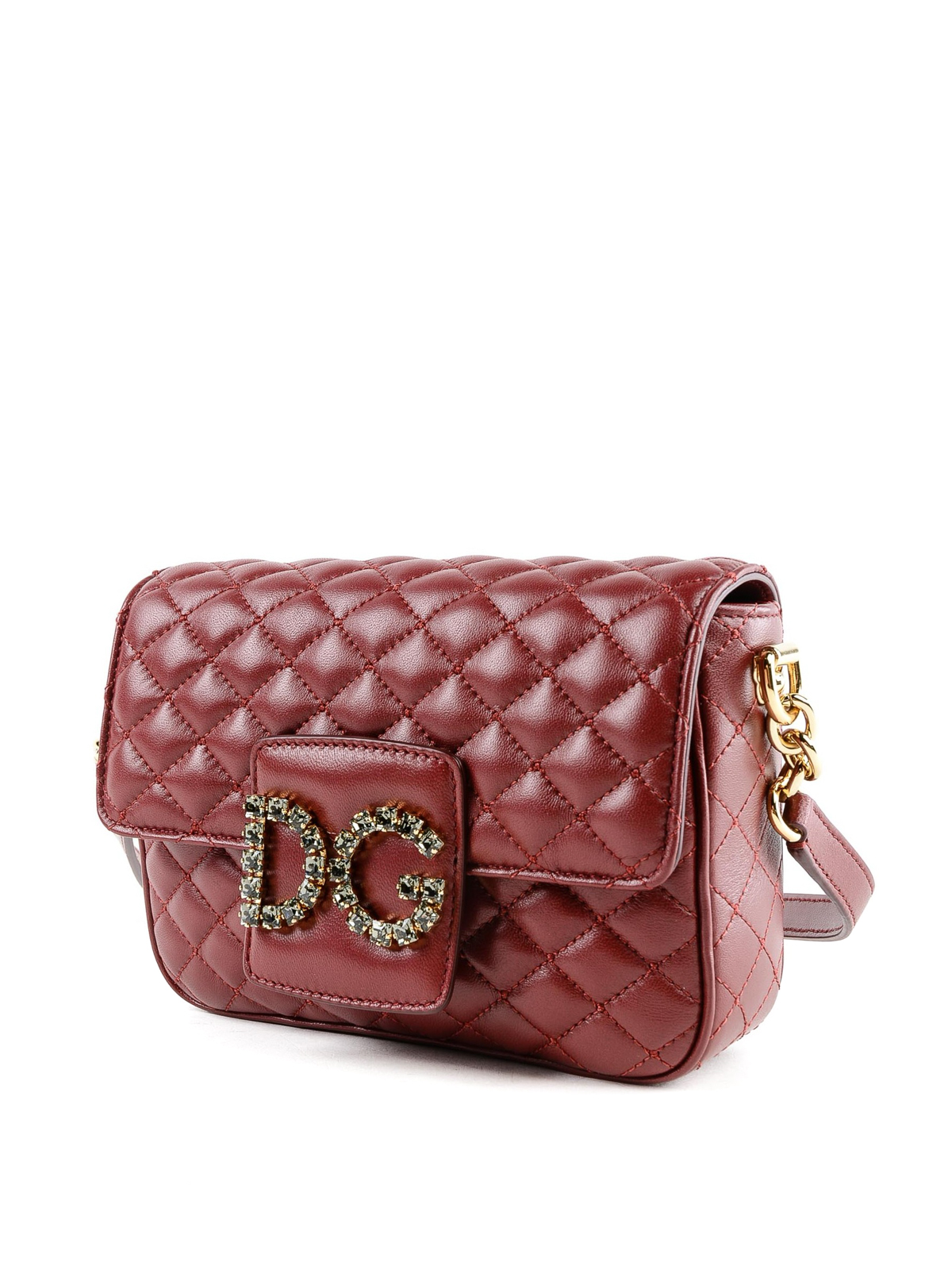 db1fa6d215 DOLCE   GABBANA  shoulder bags online - Quilted leather DG Millennials red  small bag