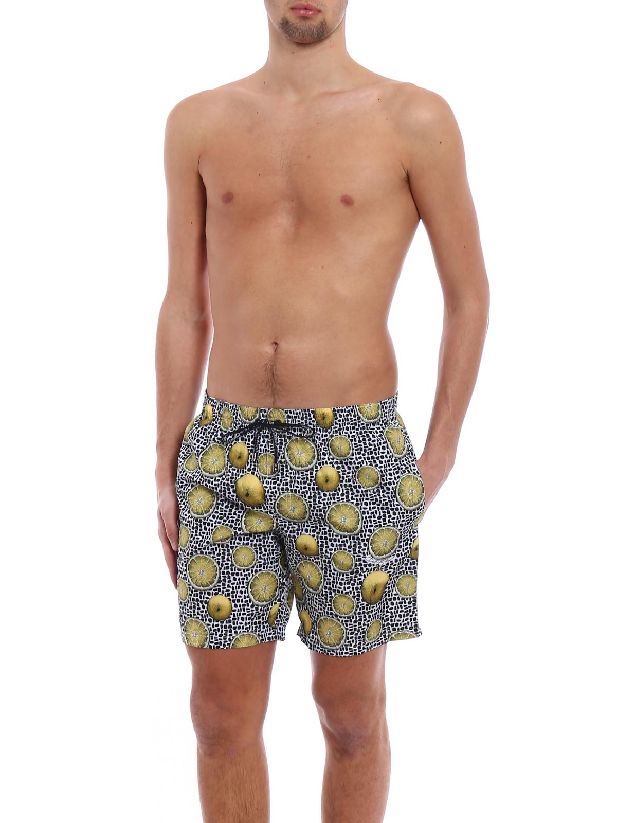 DOLCE   GABBANA  Swim shorts   swimming trunks online - Lemon print swim  shorts b6388a0e8c9