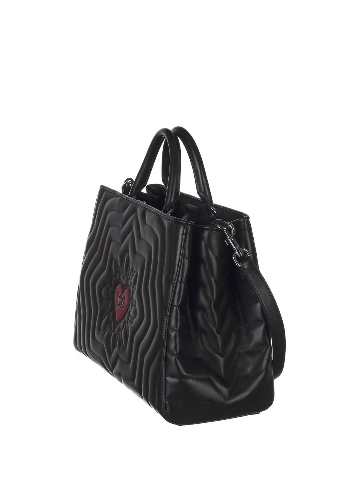 Dolce & Gabbana Glam quilted leather tote Klo3gl