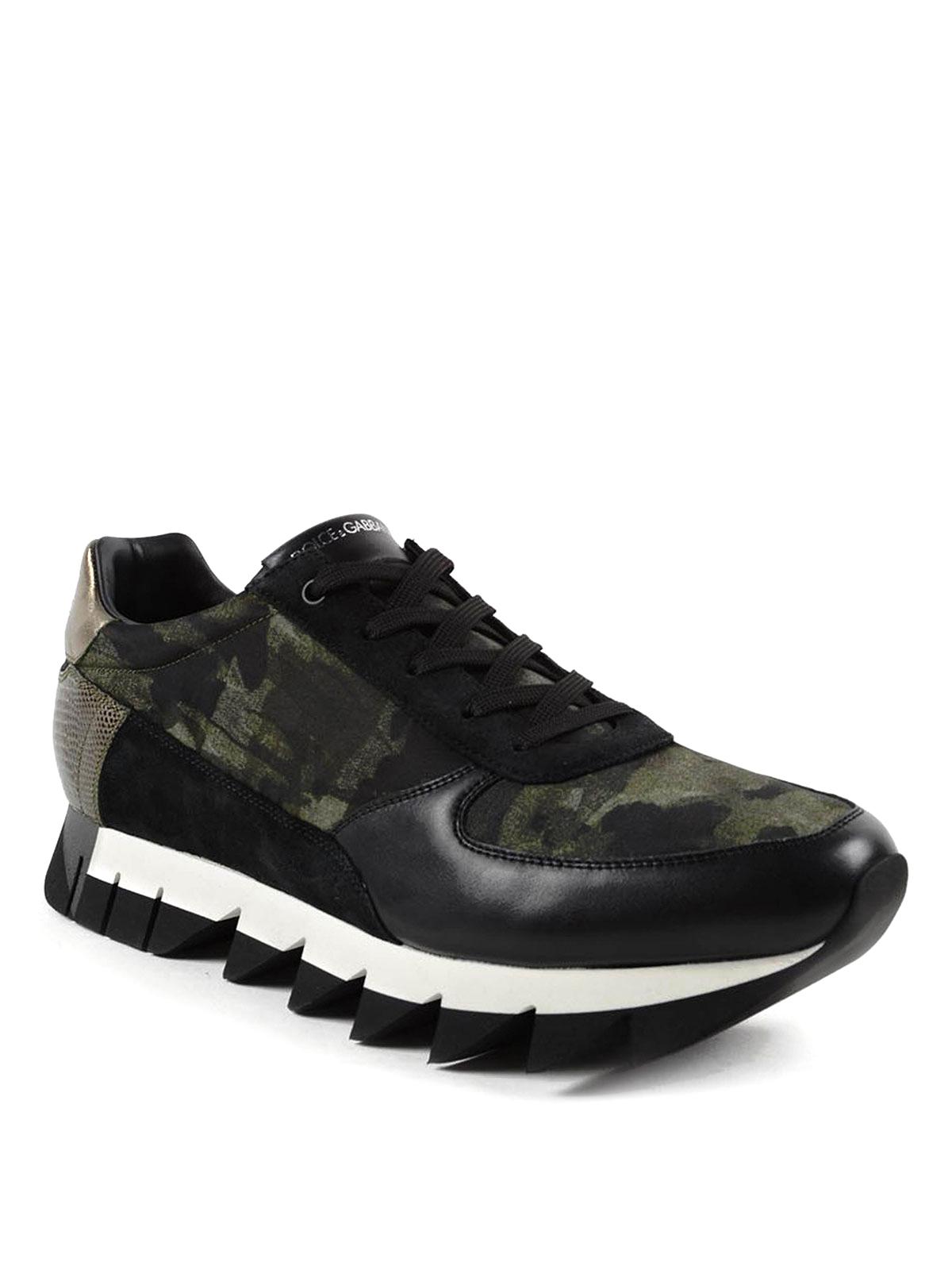 Dolce & Gabbana Baskets Capri Pour Homme Chaussures de