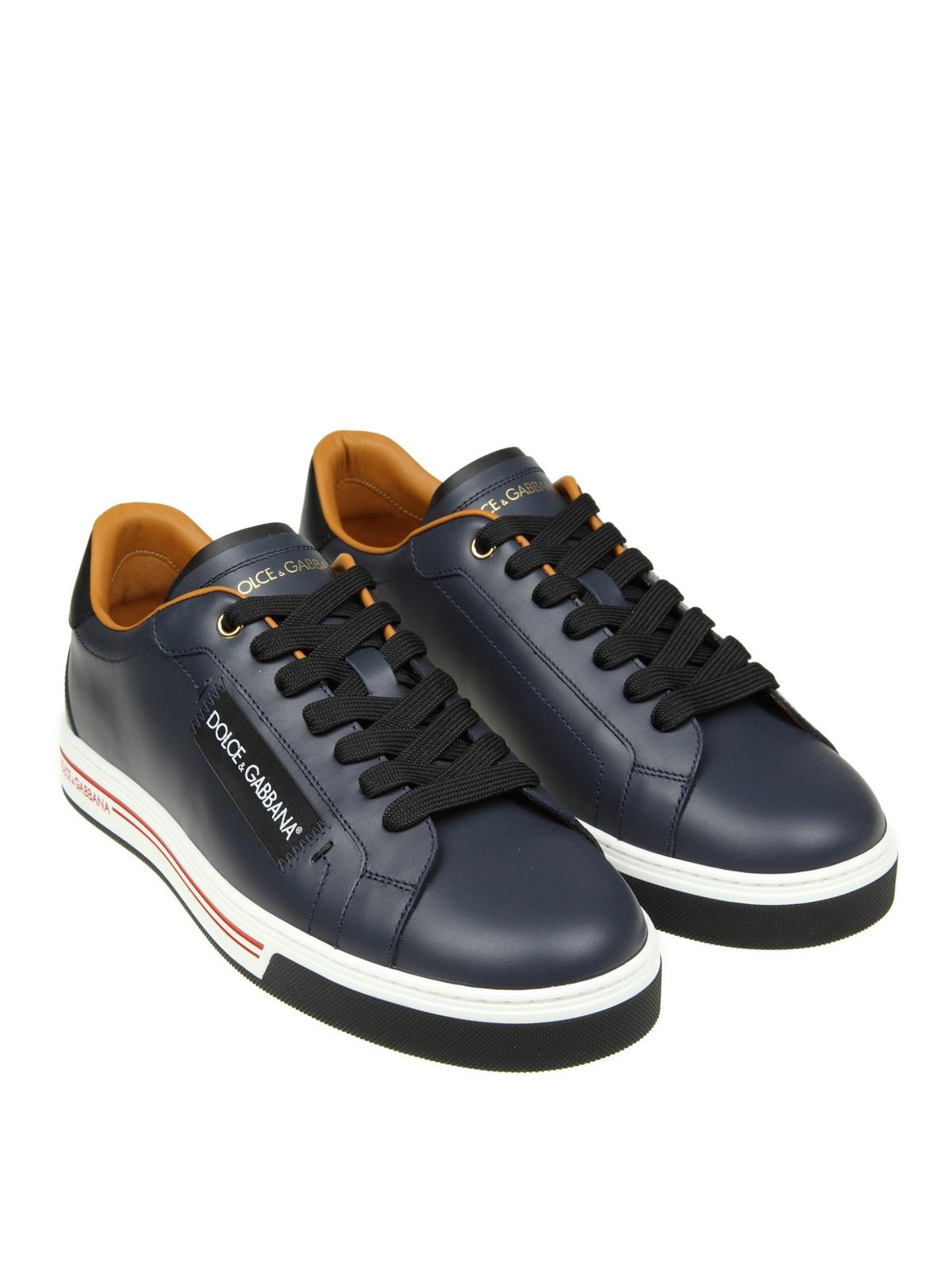 DOLCE   GABBANA  Chaussures de sport online - Baskets - Bleu d1f6072ab36d