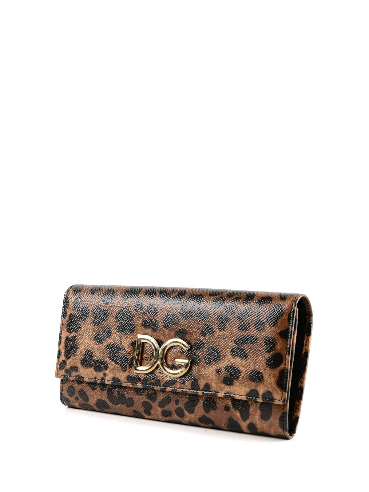 5a13fb3ade6 DOLCE & GABBANA: wallets & purses online - Dauphine leather Leo wallet
