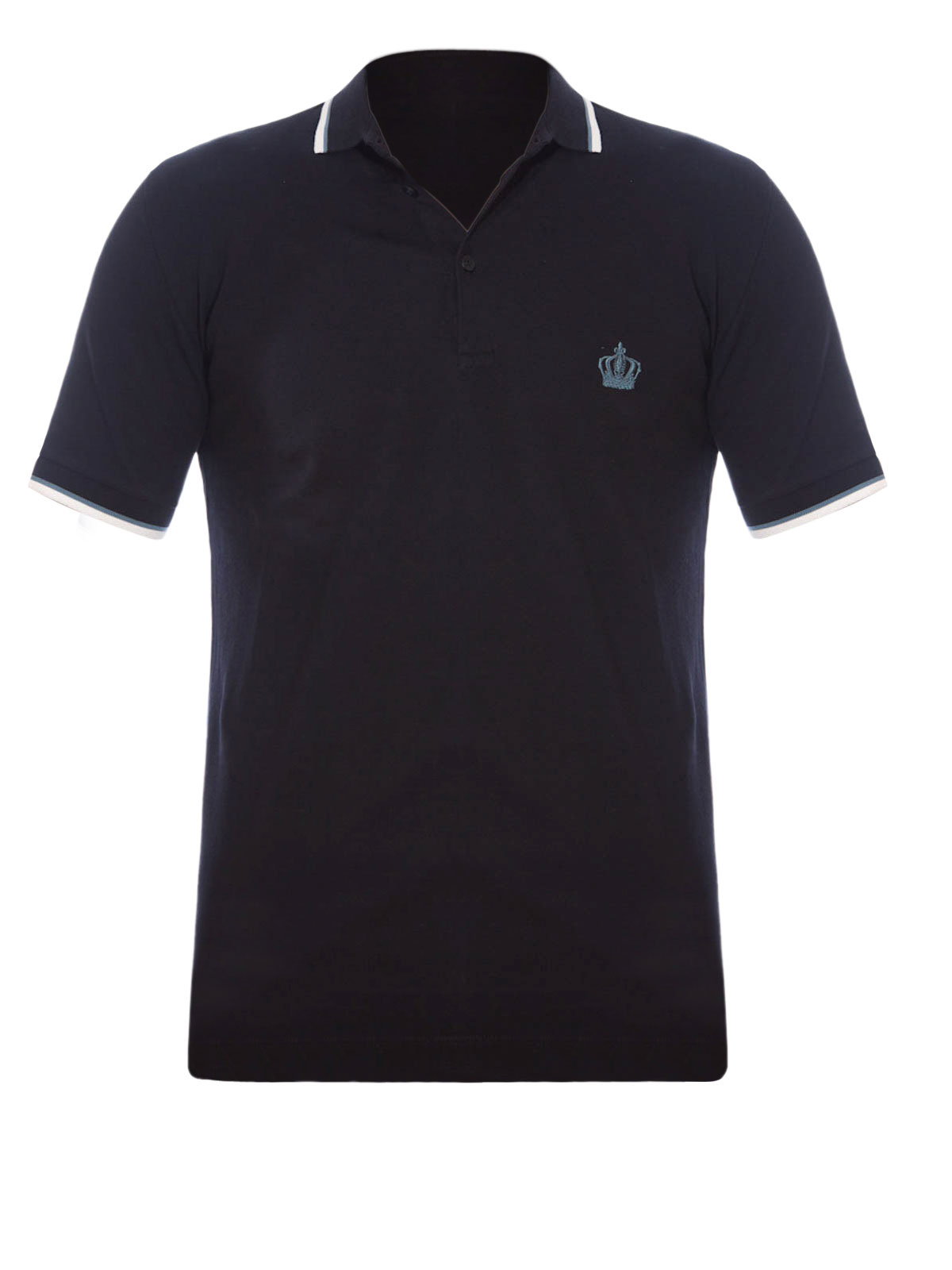 Stitched Logo Polo Shirt By Dolce Gabbana Polo Shirts