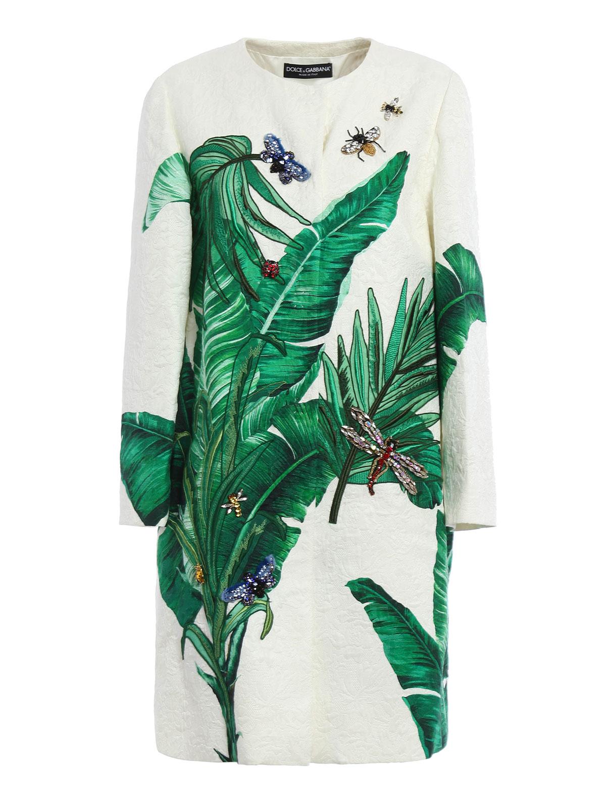687309602abf07 Dolce   Gabbana - Manteau Court Teint Pour Femme - Manteaux courts ...