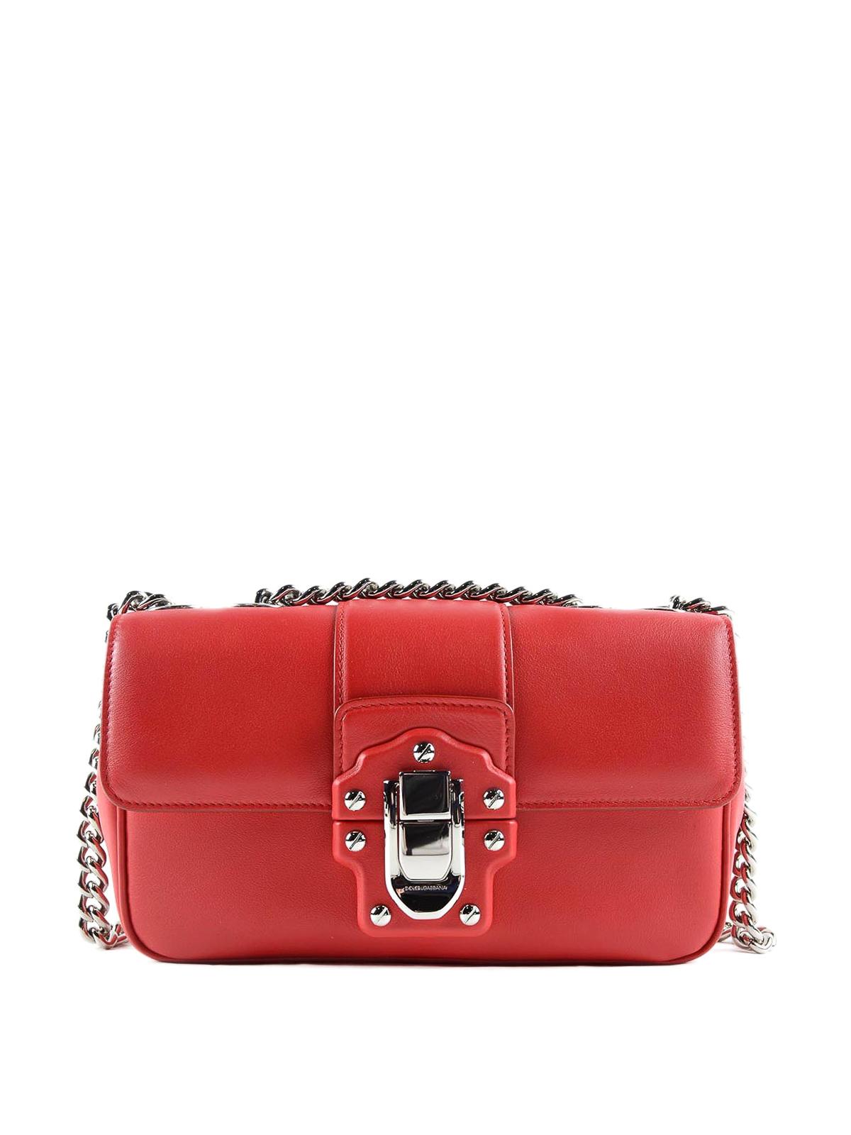 5ef8c27b5d Dolce   Gabbana - Lucia smooth leather shoulder bag - shoulder bags ...