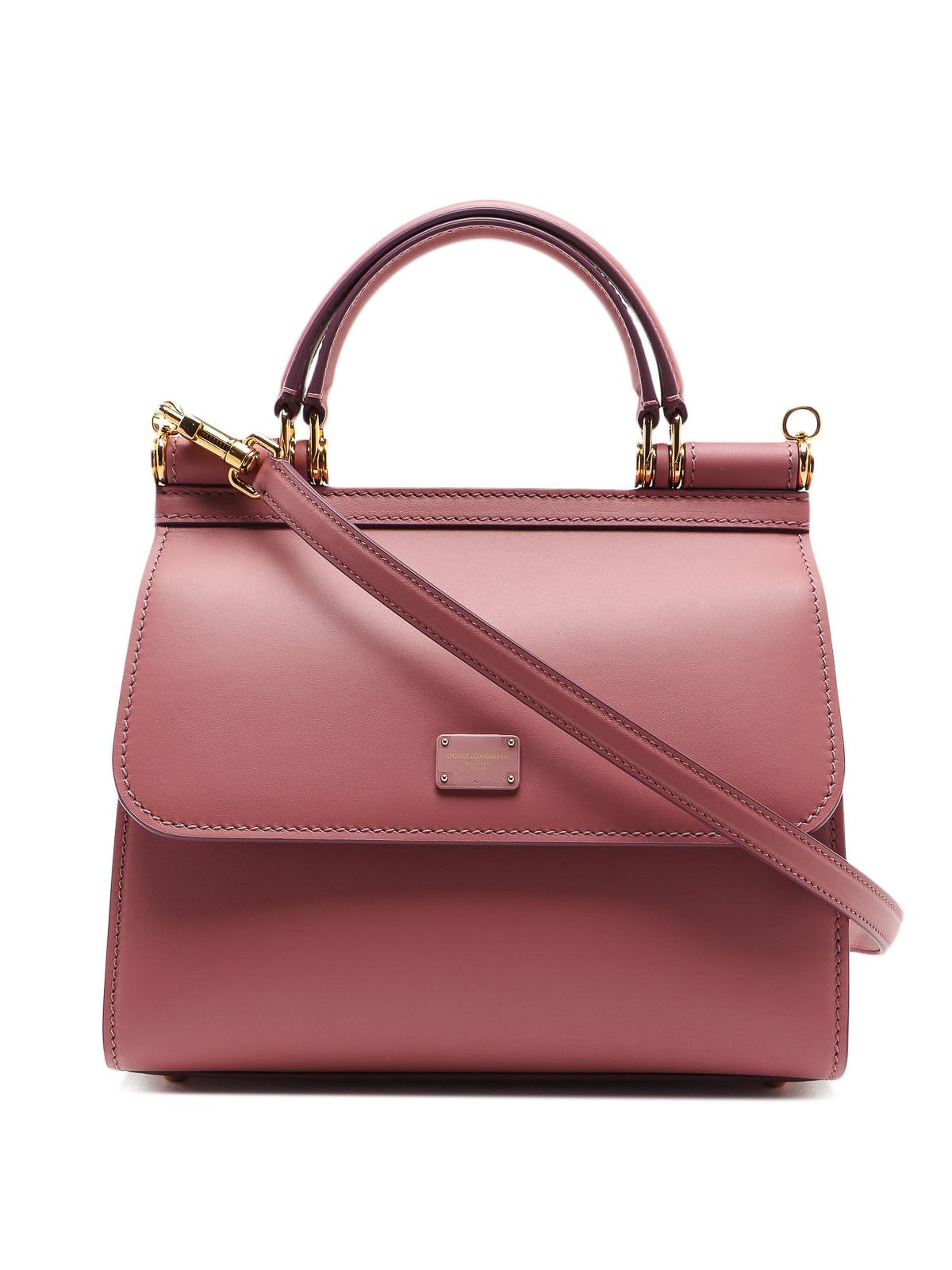 Dolce & Gabbana Sicily 58 Pink Small Bag