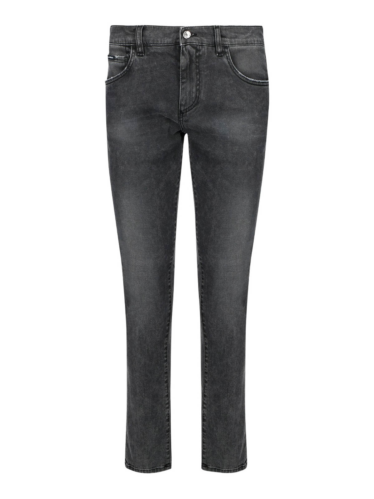 Dolce & Gabbana FADED DENIM FIVE POCKETS JEANS