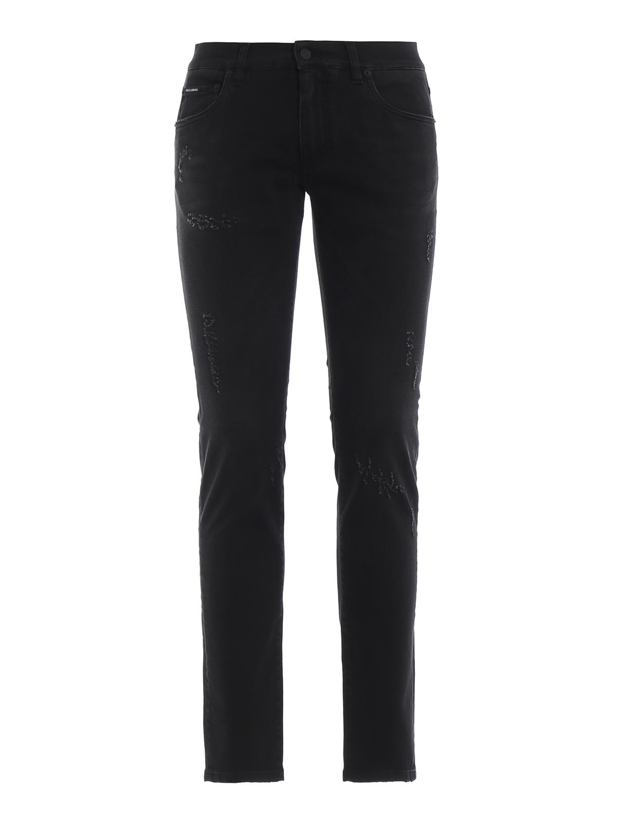 Dolceamp; Gabbana Skinny Noir Jeans Jean Gy07ldg8an5s9001 QdtshrC