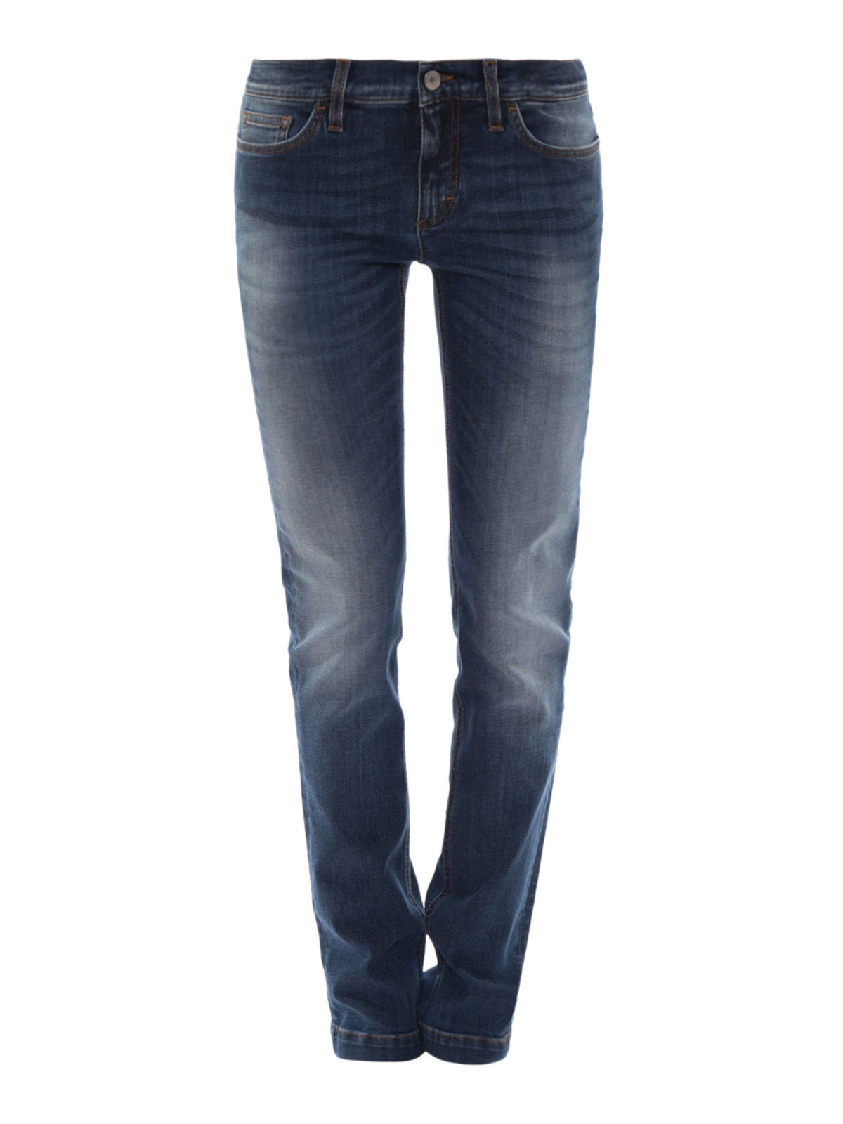 high rise jeans by dolce gabbana straight leg jeans. Black Bedroom Furniture Sets. Home Design Ideas
