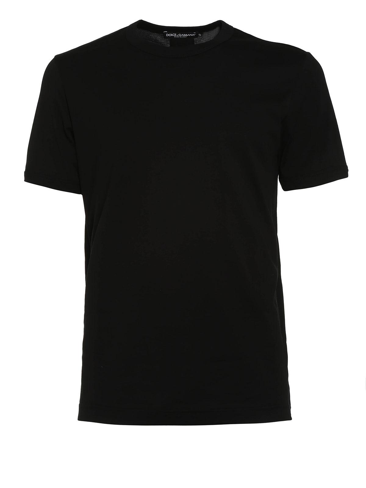 cotton t shirt by dolce gabbana t shirts shop online at. Black Bedroom Furniture Sets. Home Design Ideas