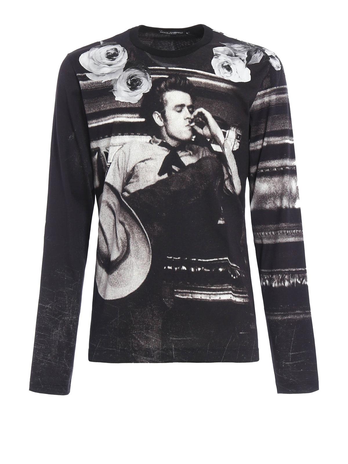 dolce gabbana james dean t shirt sale   OFF67% Discounts 4d011d51dd0a
