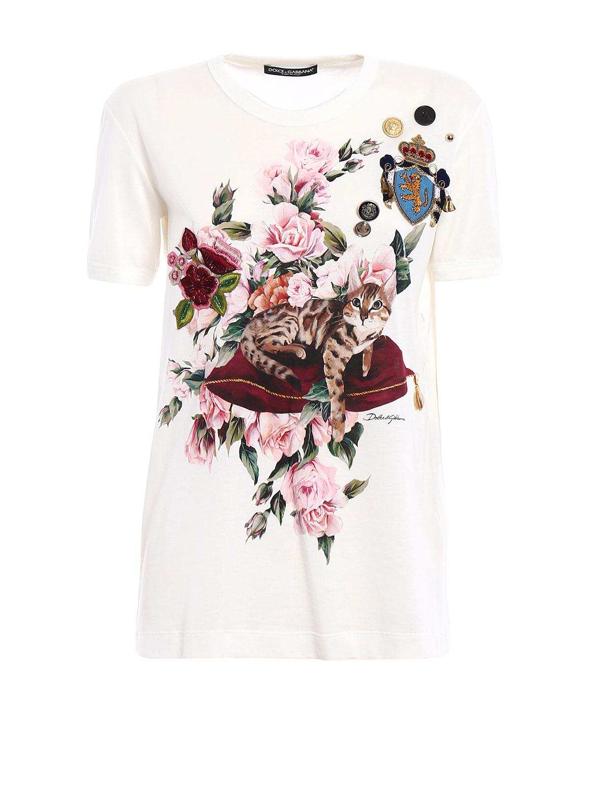 adcb3daecf62d ... spinnaker  dolce gabbana mimmo e zambia embellished t shirt t shirts ...