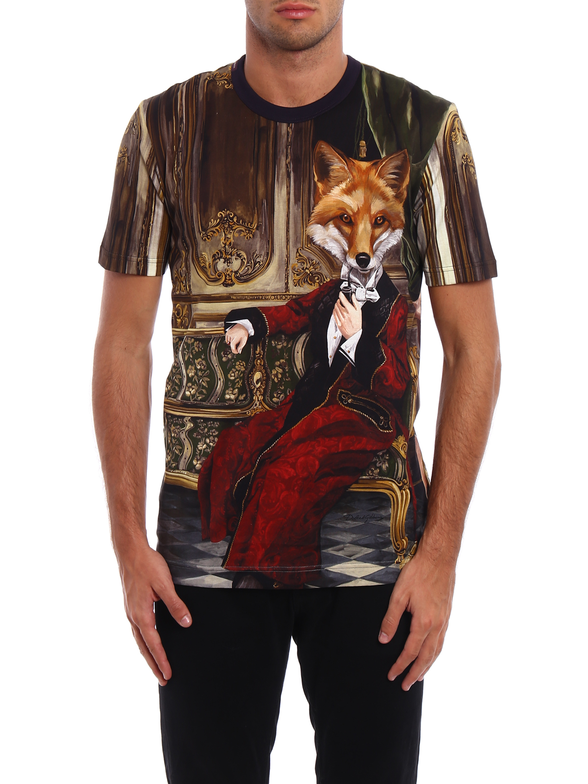 All over printed t shirt by dolce gabbana t shirts for All over printing t shirts