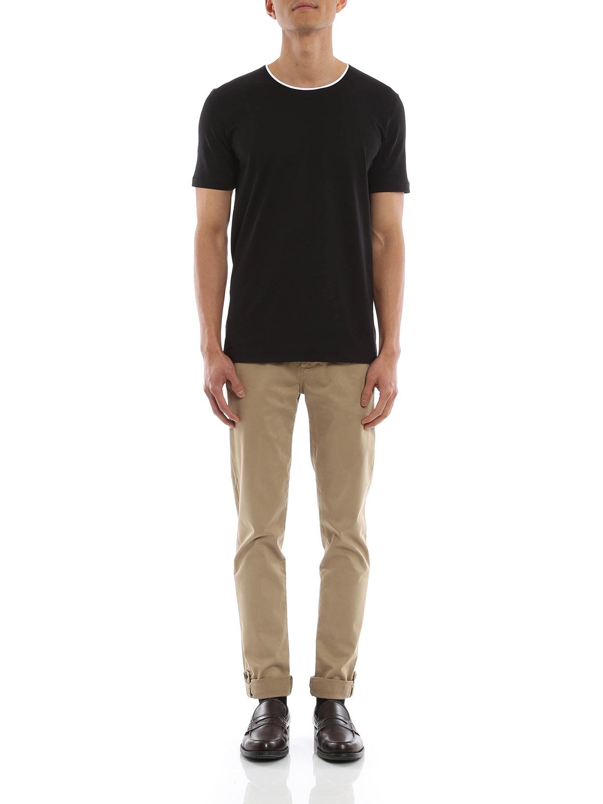 cotton t shirt by dolce gabbana t shirts ikrix. Black Bedroom Furniture Sets. Home Design Ideas