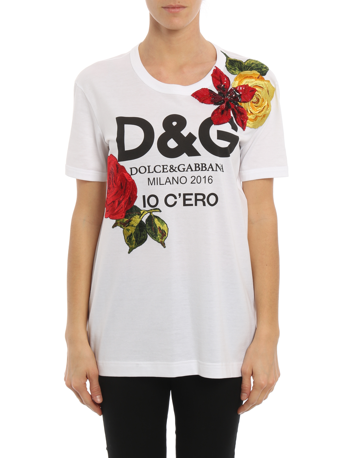 fc82e86c4f954 Dolce And Gabbana Basic T Shirt