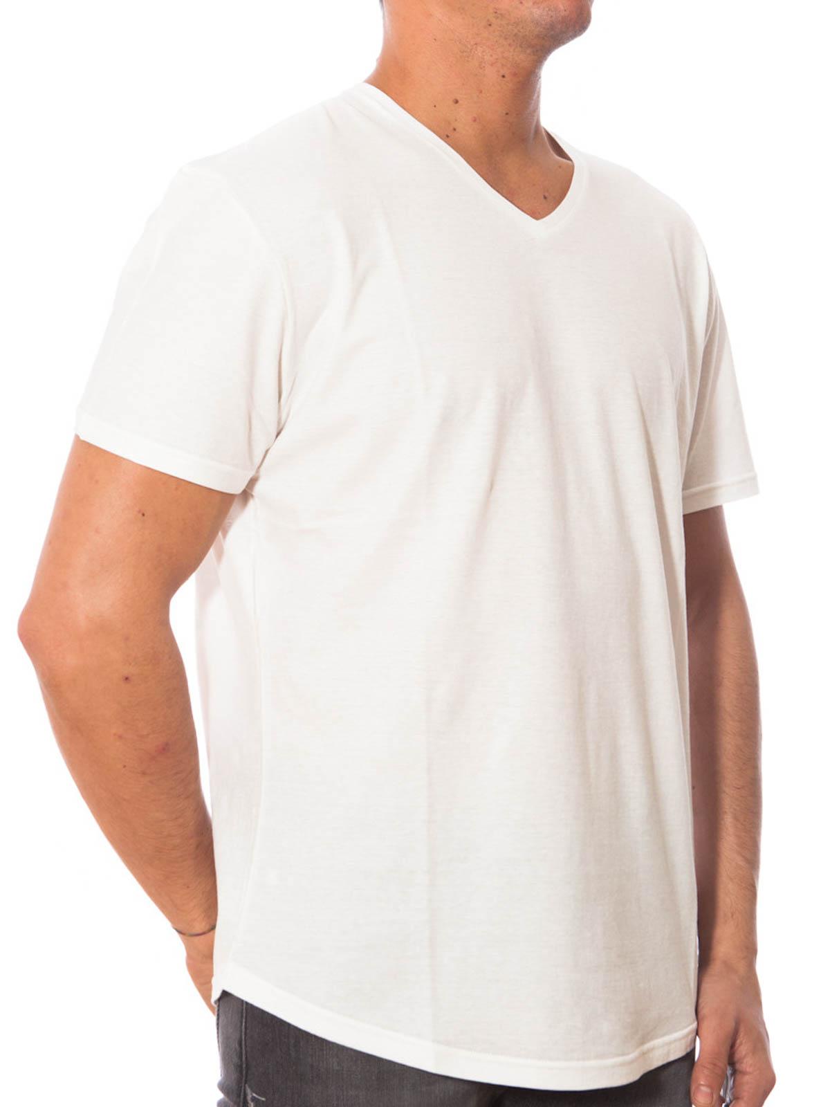 V neck cotton t shirt by dolce gabbana t shirts shop for V neck t shirt online shopping