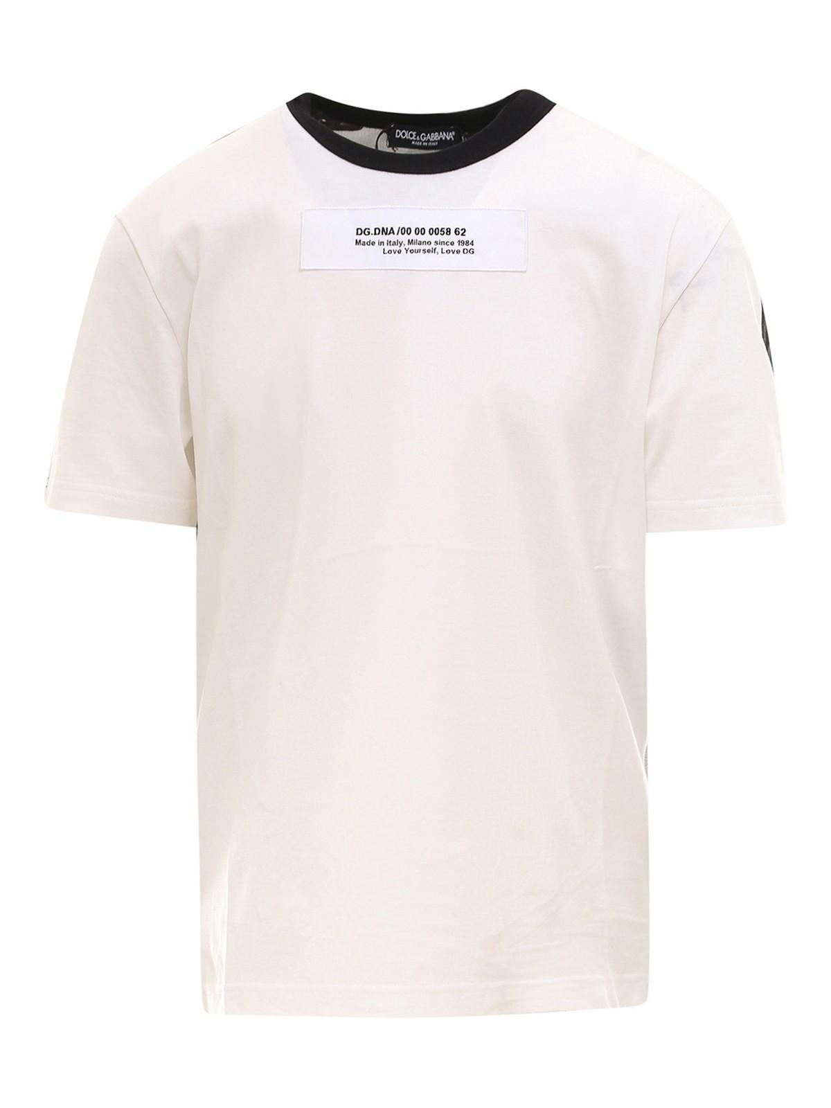 Dolce & Gabbana Cottons PRINTED T-SHIRT