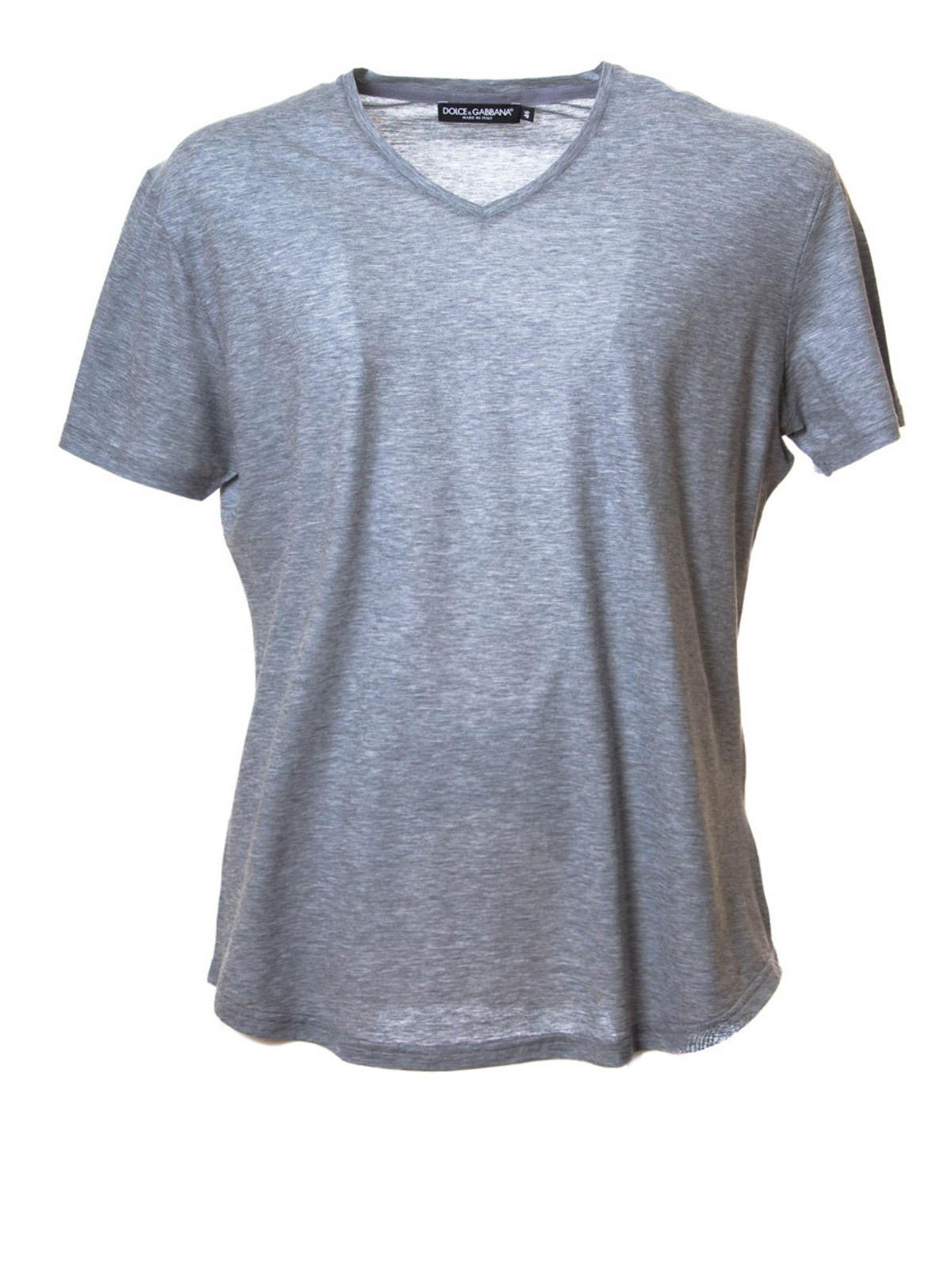 a4ba2cddee9c7 Dolce   Gabbana - Camiseta Gris Para Hombre - Camisetas ...