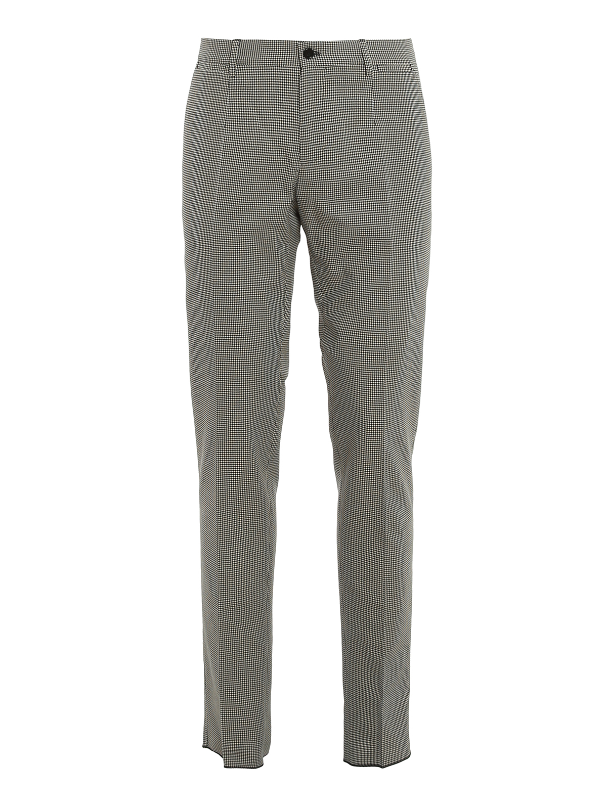 Dolce & Gabbana Cottons HOUNDSTOOTH PATTERNED PANTS