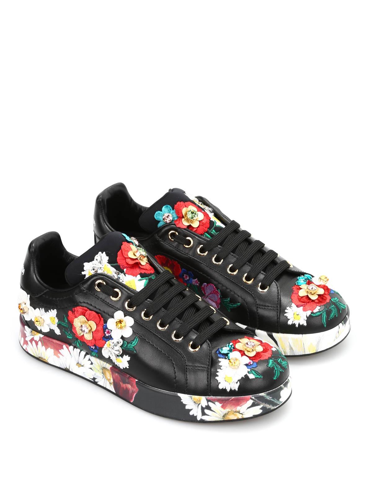 sneaker fantasia floreale dolce gabbana sneakers ikrix. Black Bedroom Furniture Sets. Home Design Ideas