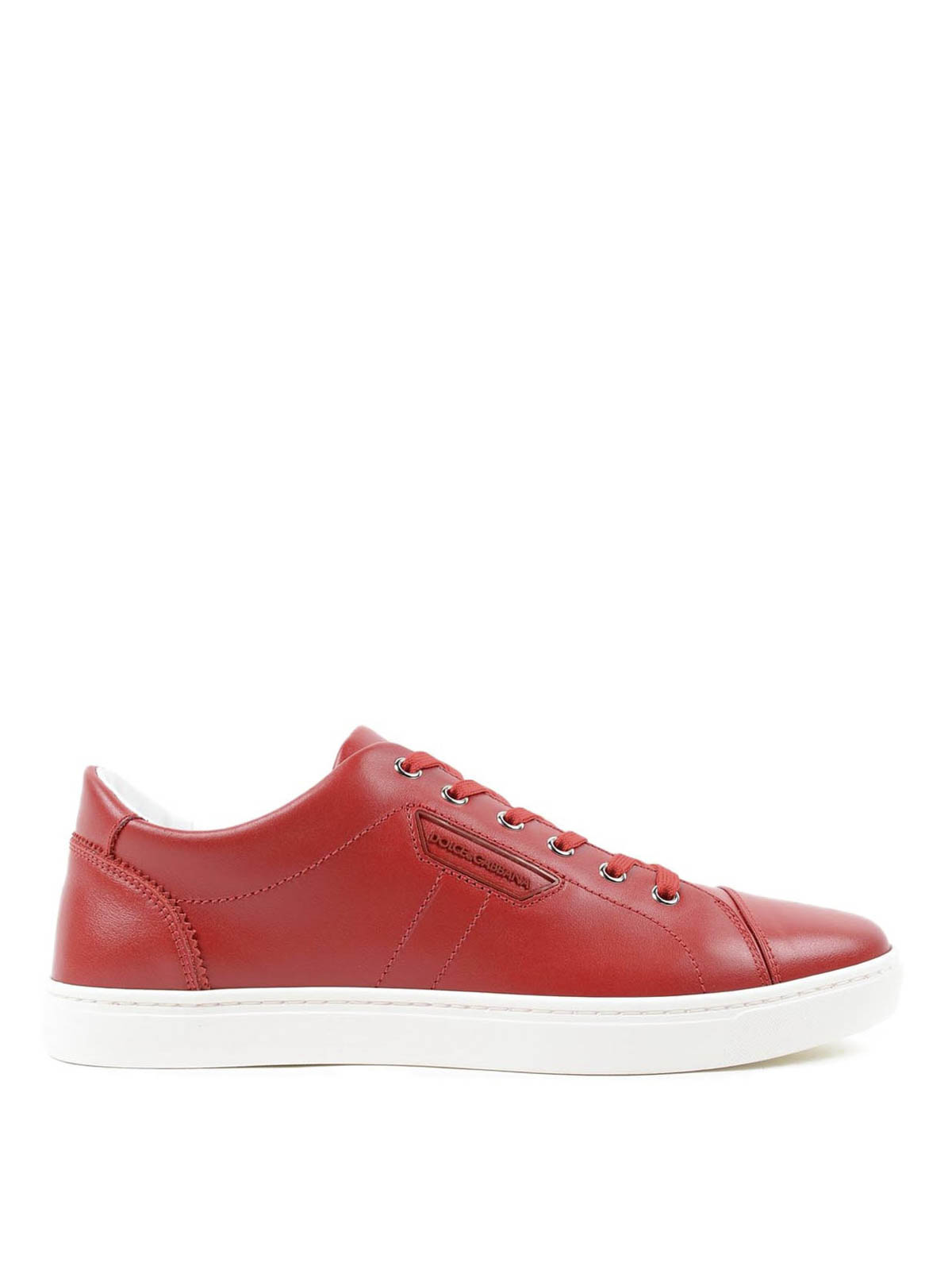 london leather sneakers by dolce gabbana trainers ikrix. Black Bedroom Furniture Sets. Home Design Ideas