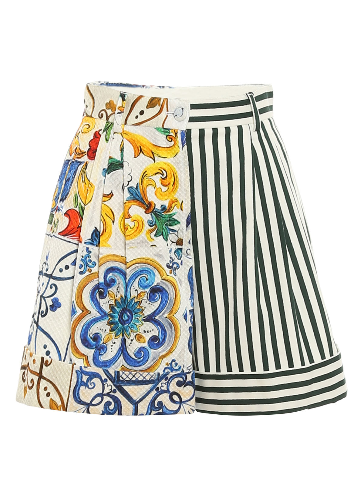 Dolce & Gabbana Shorts PATCHWORK PATTERNED SHORTS