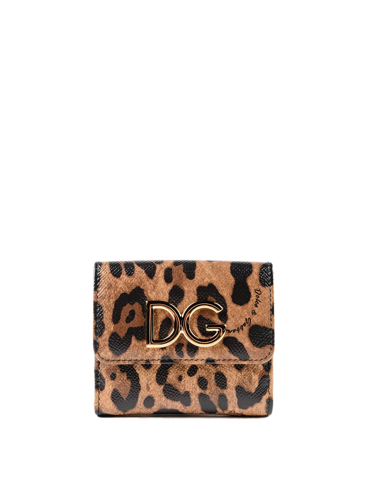 new styles 70c2b ed06f Alla Francese Portafoglio Stampa In Dolceamp; Gabbana Pelle ...