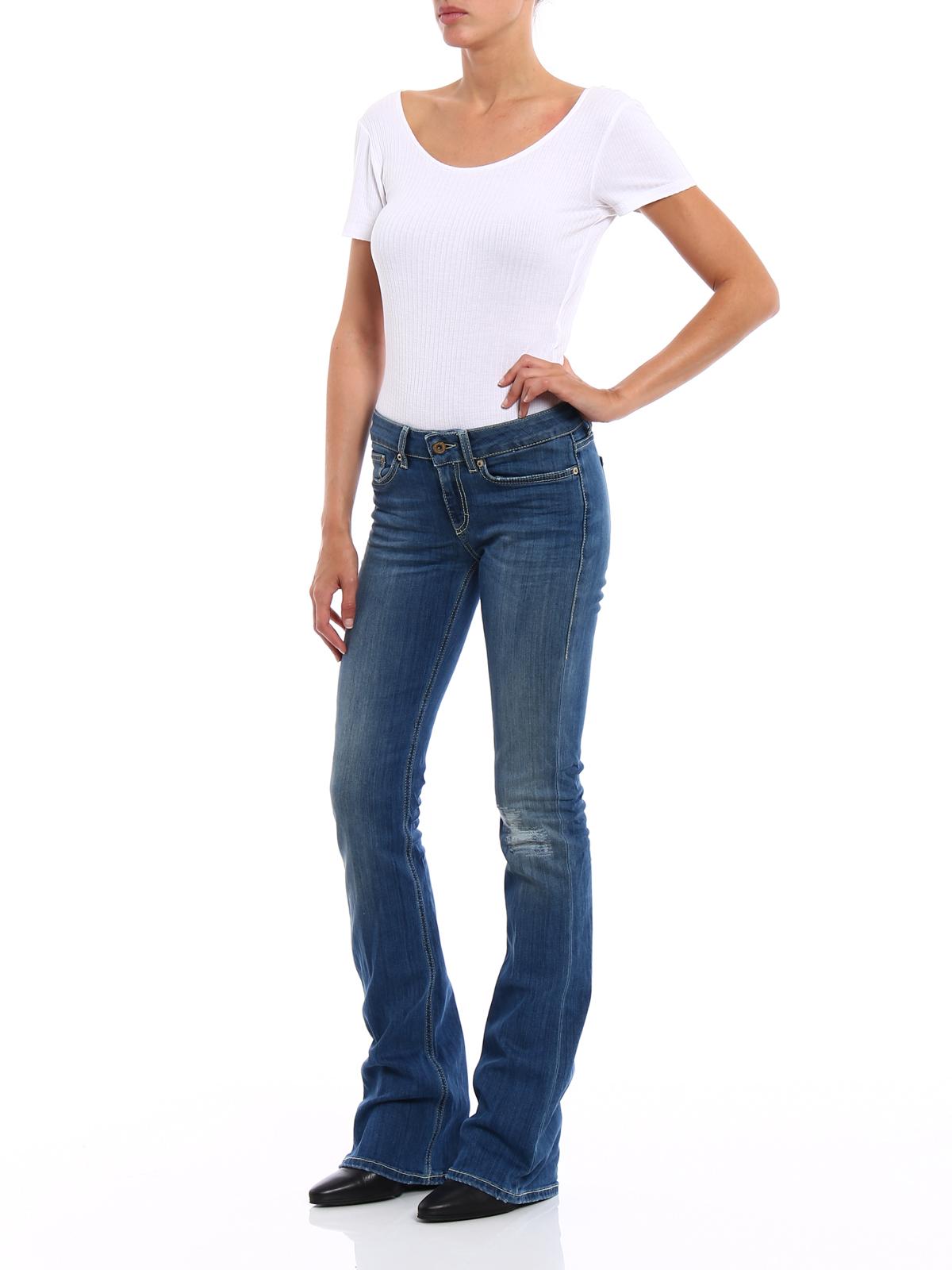 low-rise skinny jeans - Blue Dondup gDbcjf2