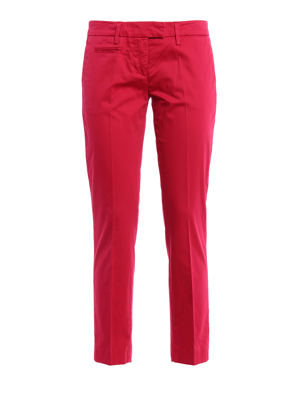 cropped trousers - Red Dondup Marketable Cheap Sale Low Price 2018 New EMxR3KYZmb