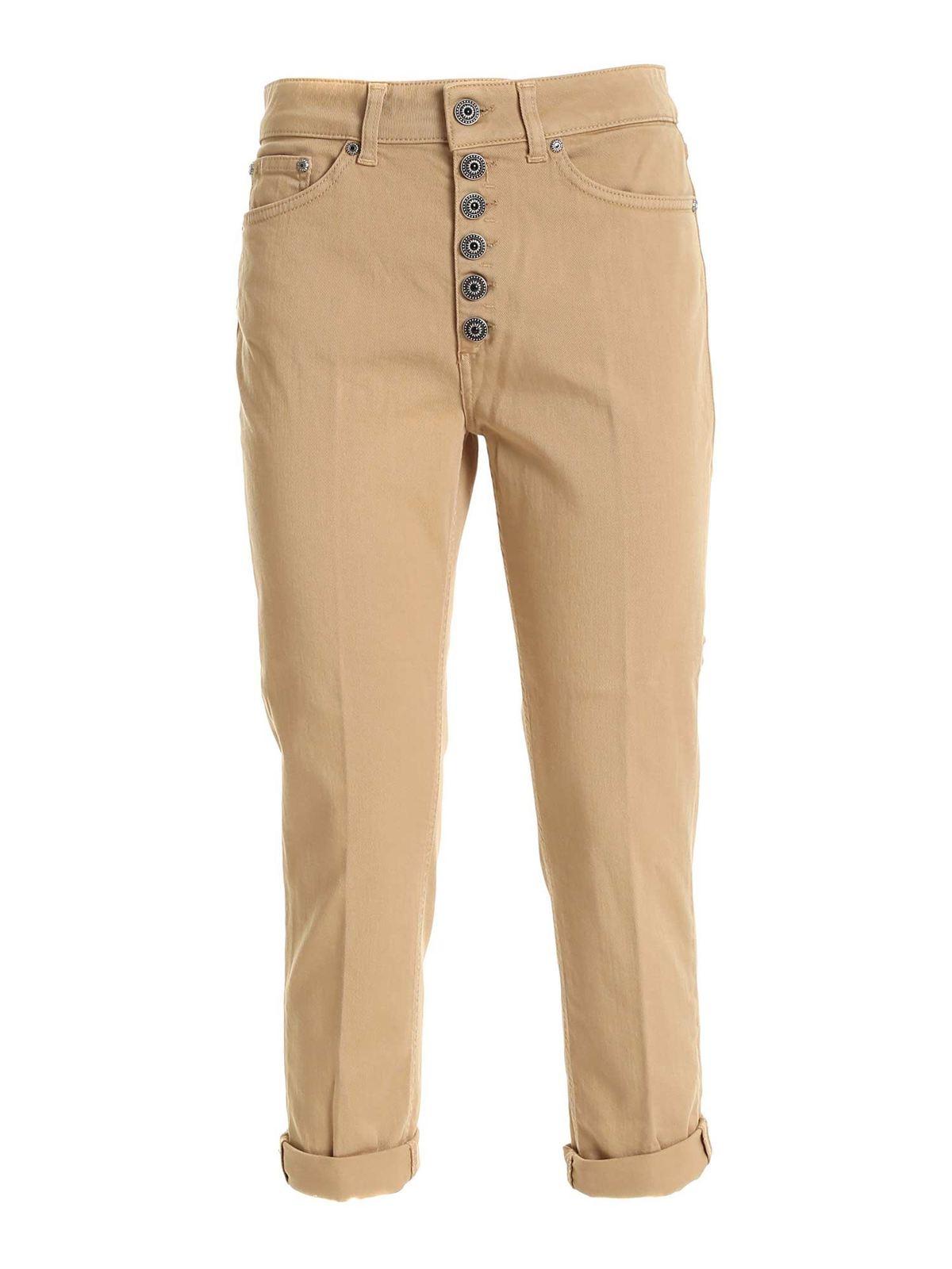 Dondup Pants KOONS PANTS IN BEIGE