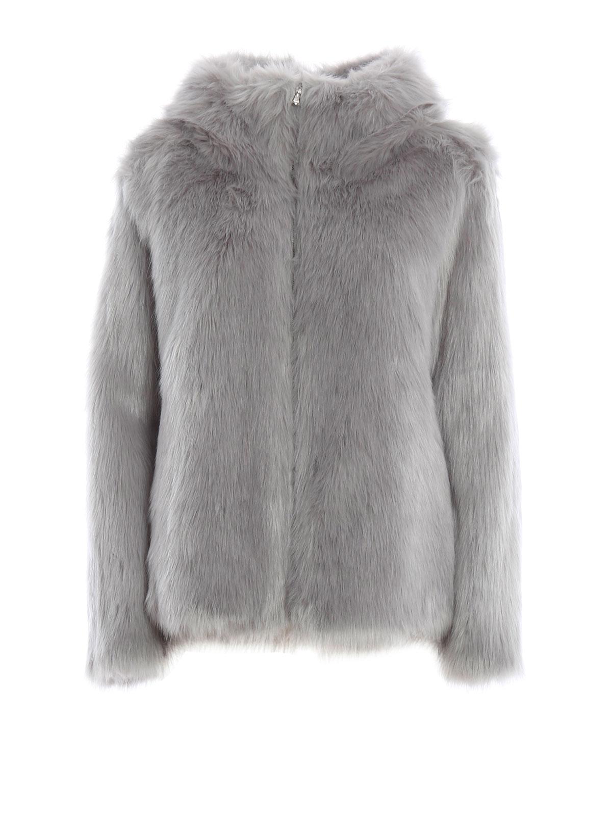 Faux Fur Short Jacket