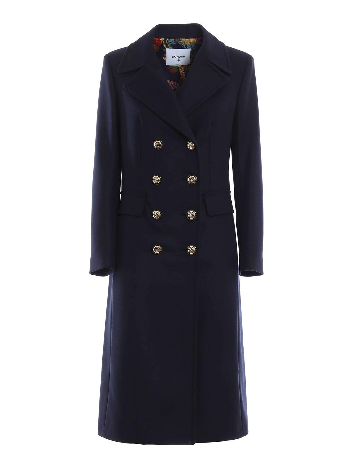 Dondup - Pamily coat - long coats - J958 WF402DXXX 890  169174c142eb