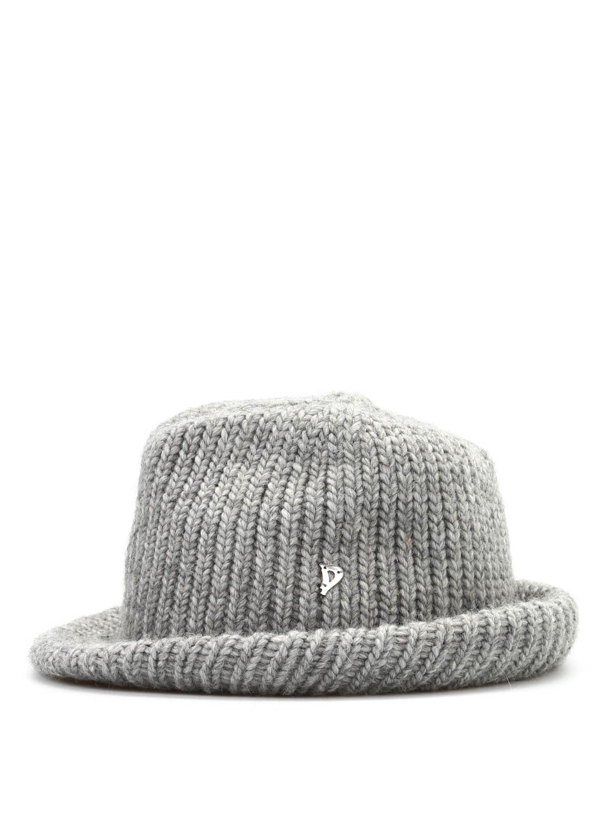 comprando ora bel design moda Dondup - Cappello Febe a maglia - cappelli - WQ039 Y482D XXX 902