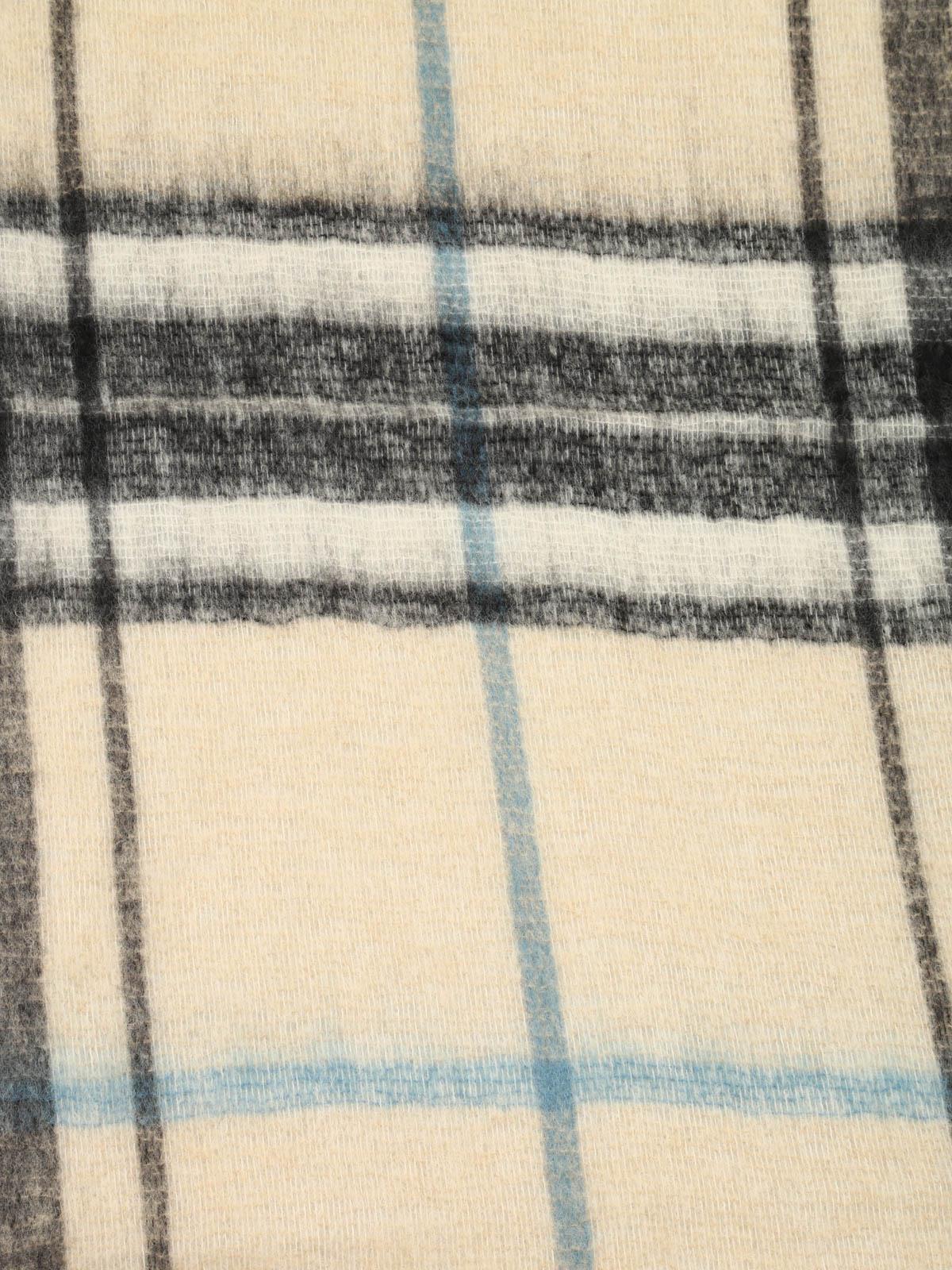6e5d53d945 Dondup - Sciarpa Abbyssinia maxi tartan - sciarpe e foulard - WK164 ...