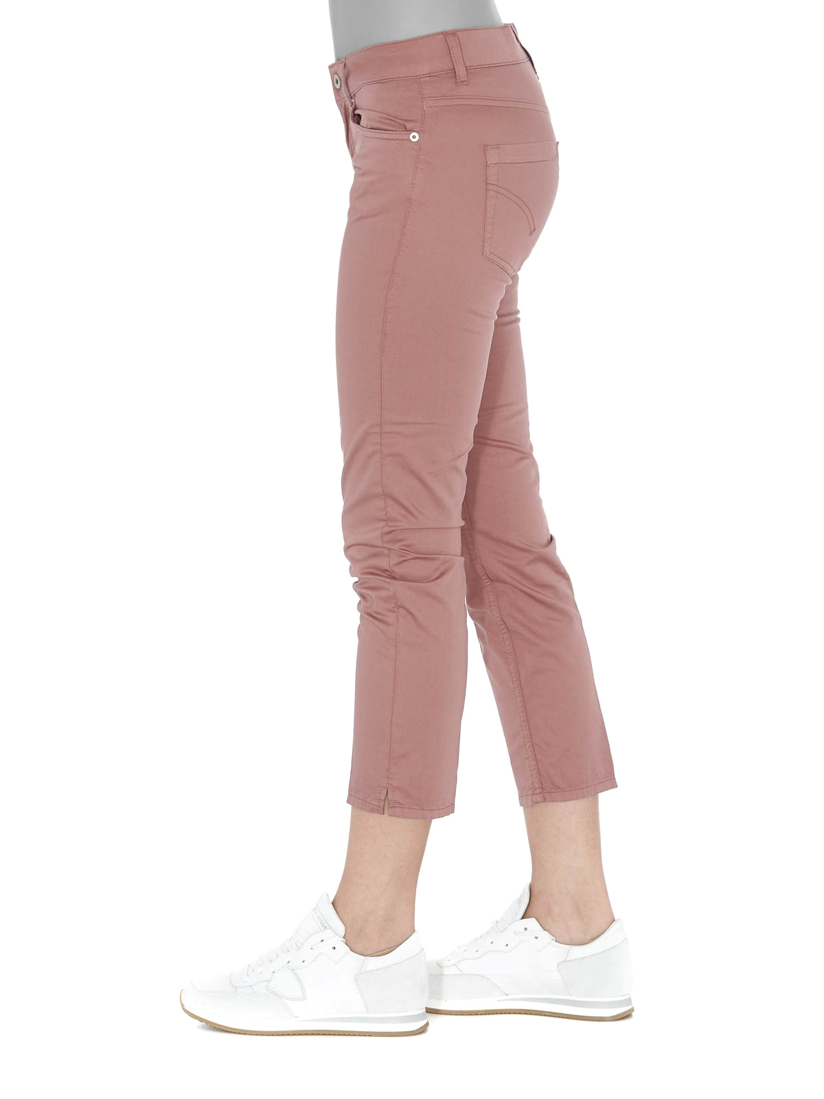 94d733f287 Dondup - Jeans cropped Newdia rosa - jeans skinny - DP405RS0986DPTD532